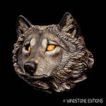 Wolf sconce