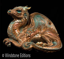 Old Warrior dragon copper by Reptangle