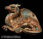 Old Warrior dragon copper