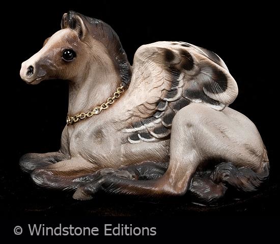 roan baby Pegasus by Reptangle