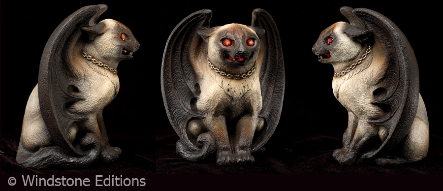 Siamese Bat cat by Reptangle