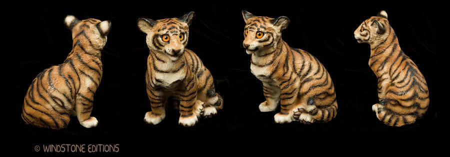 Tiger cub. by Reptangle
