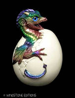 Hatching Dragon sculpture