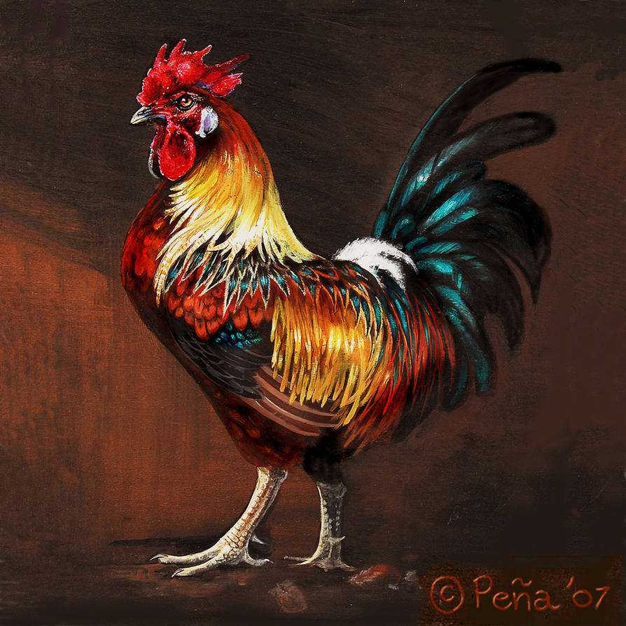 Famous Rooster Paintings