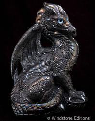 Black glitter Male dragon