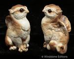 Barn owl griffin chicks