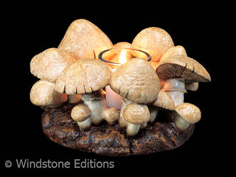 Fairy ring candle lamp