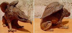 ceramic griffin