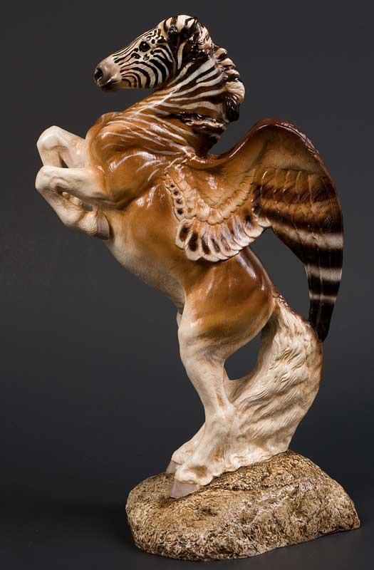 quagga Pegasus stallion by Reptangle