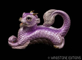 Lavender Young Oriental dragon by Reptangle