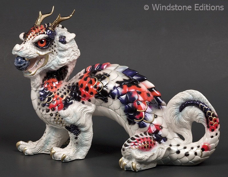 Koi Oriental Sun dragon by Reptangle