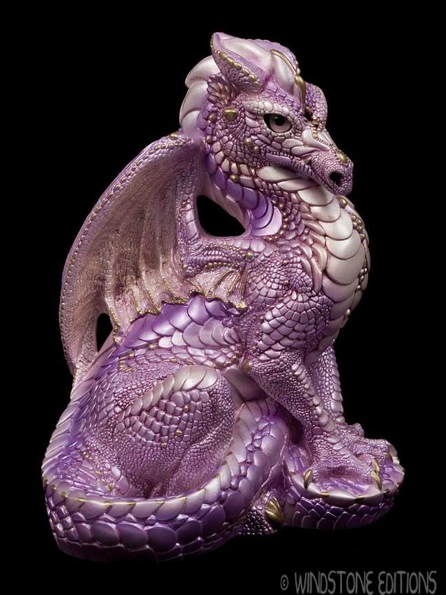 Lavender Male dragon by Reptangle