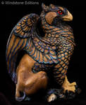 Gold Lace Sebright griffin