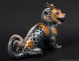 Koi Moon dragon by Reptangle