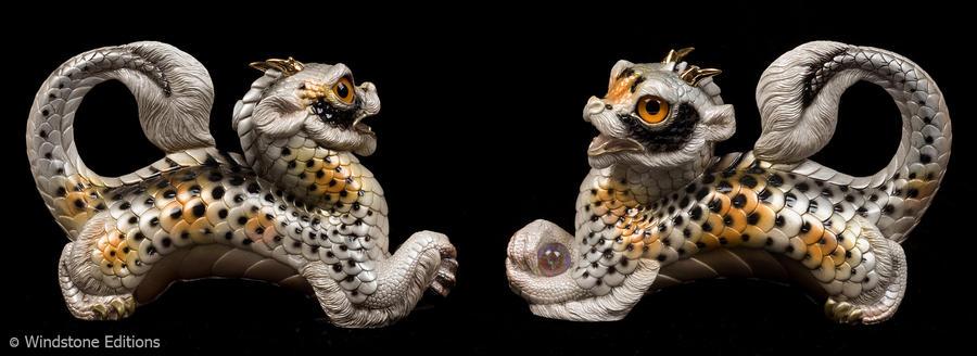 Kujaku Koi young Oriental dragon by Reptangle