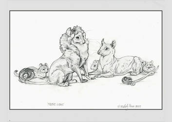 Mouse Lions by Reptangle