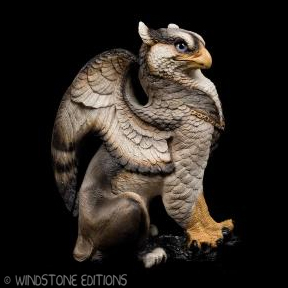 Silver wolf Male Griffin by Reptangle