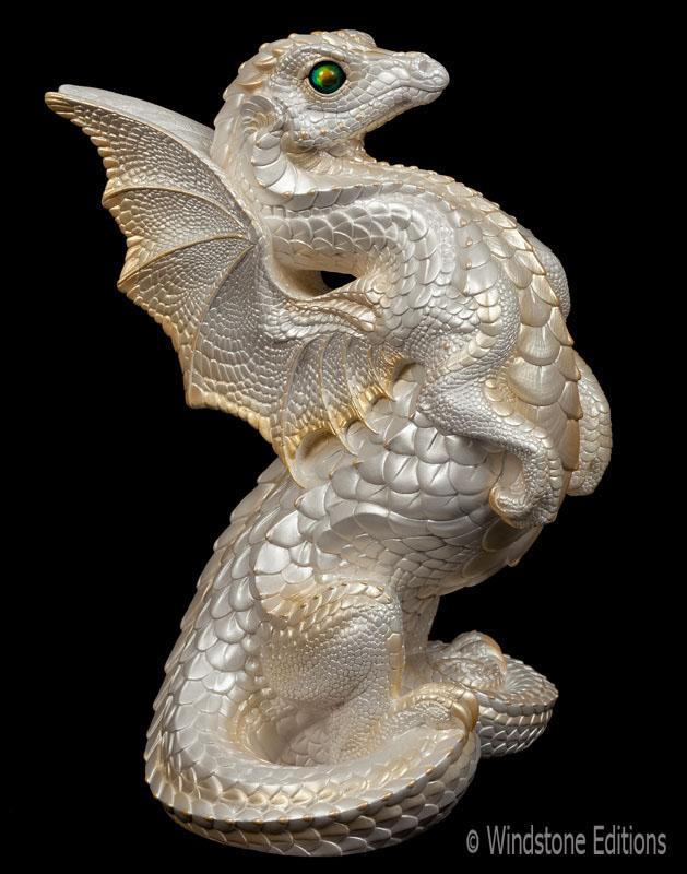 White dragon by Reptangle