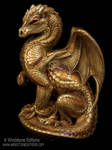 Golden Secret Keeper dragon
