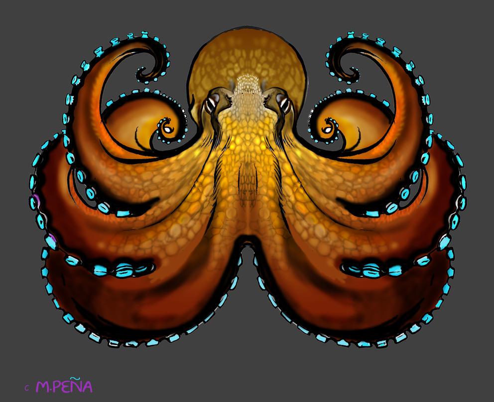 Shirt design octopus - Coconut Octopus Tee Shirt Design By Reptangle