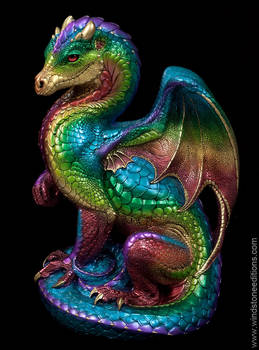 Secret Keeper Dragon in  Rainbow