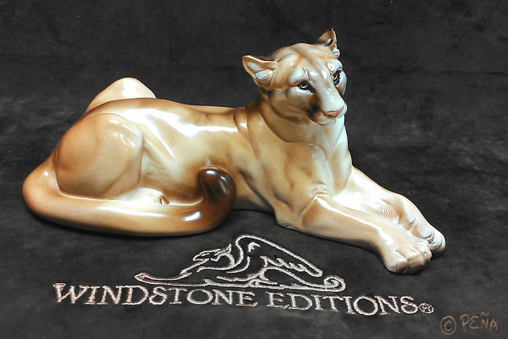 Mountain Lion Sculpt Full Body Front by Reptangle on DeviantArt