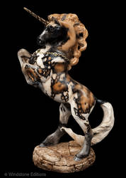 African Wild Dog Grand  Unicorn by Reptangle