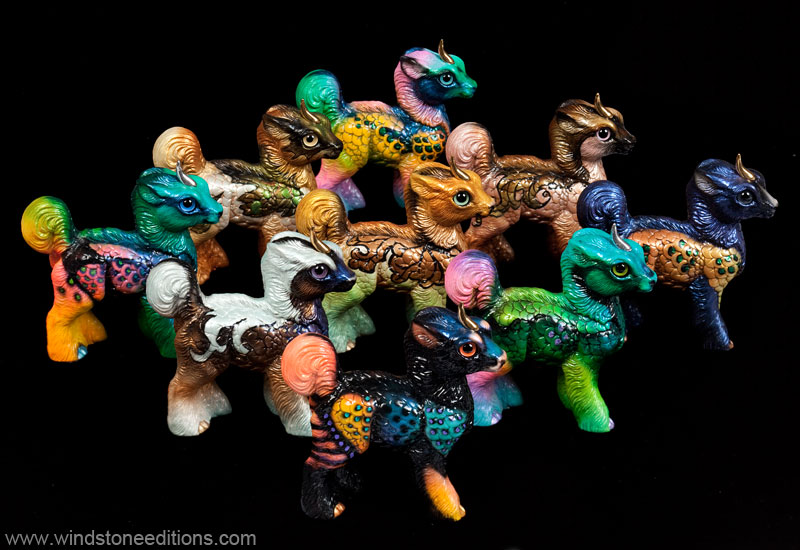 Standing Baby Kirin fantasy Grab  Bag editiion by Reptangle