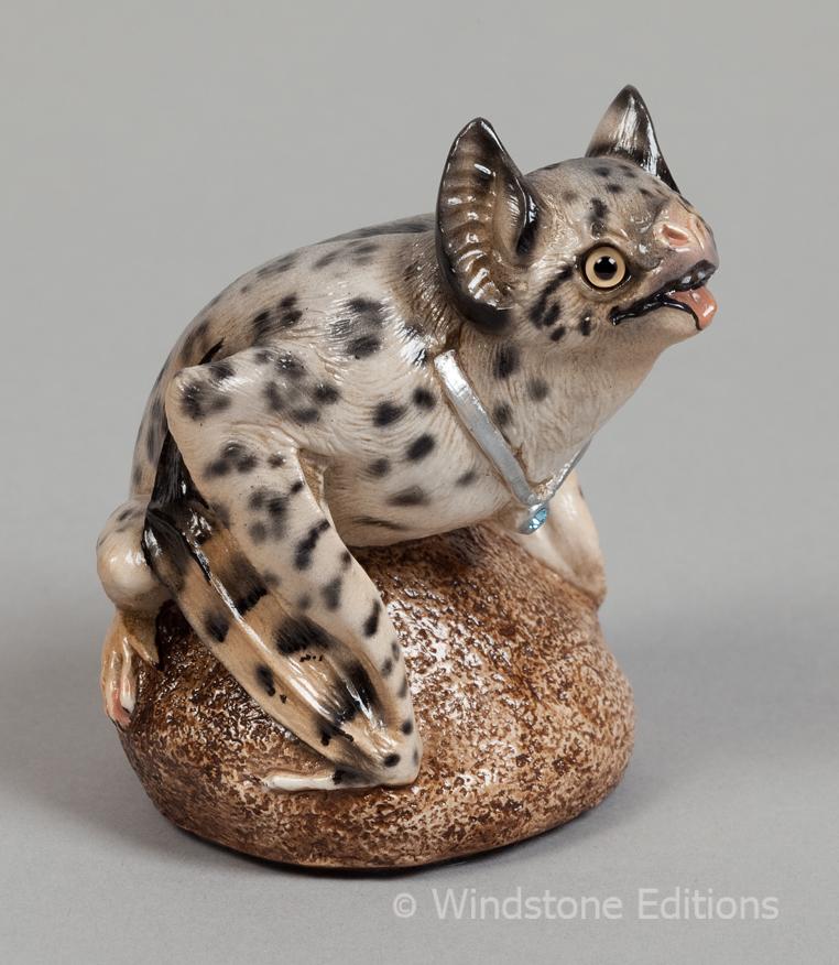 Snow Leopard VampireBat by Reptangle