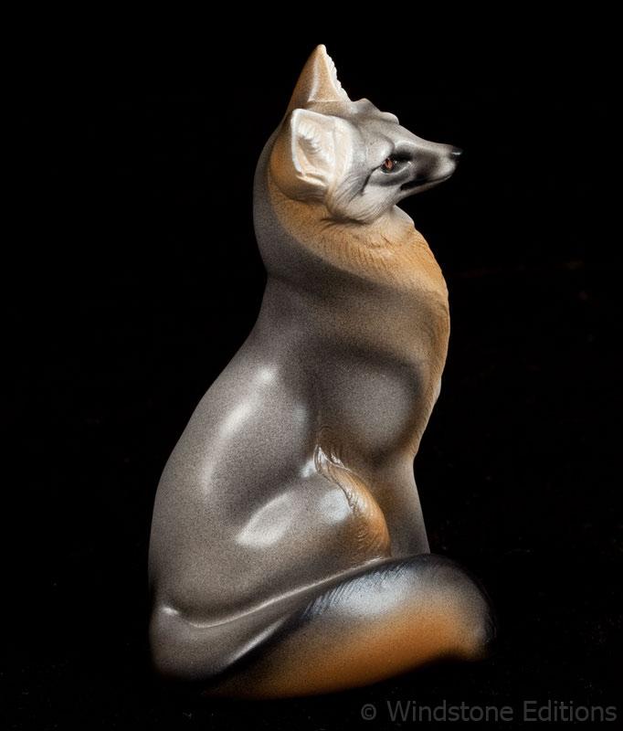 Grey Fox by Reptangle