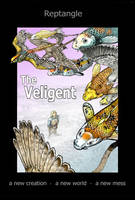 The old Cover of  The Veligent  (color version) by Reptangle