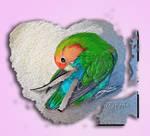 Heart Love Bird