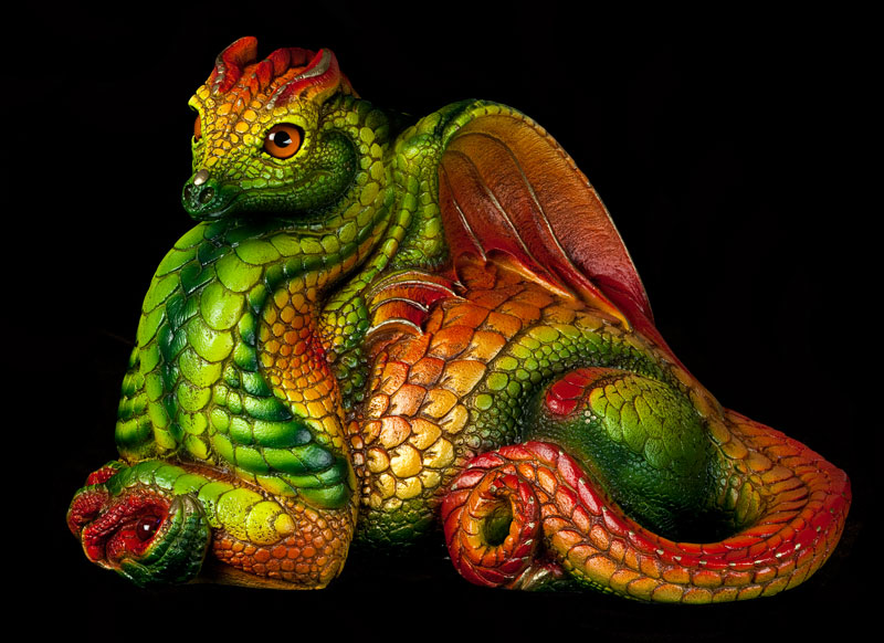 Hearth Dragon  in Cirtrus color by Reptangle