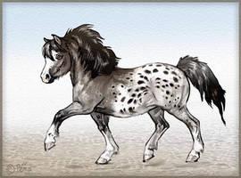 Christmas pony by Reptangle