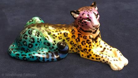Rainbow Leopard Cougar
