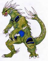 Tyranitar by Dragon-Titan