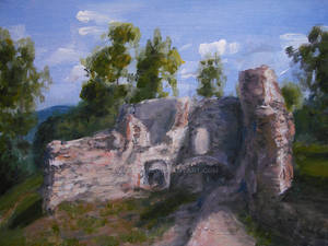 Nowy Sacz - Ruins of castle