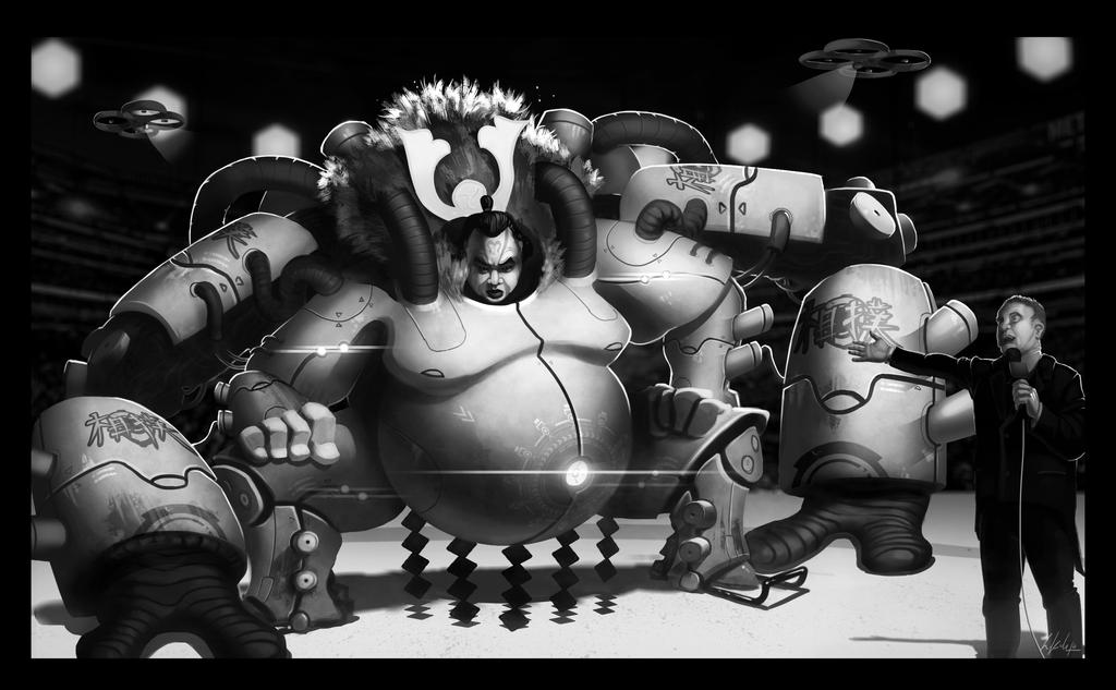 contest entry mad wrestler by Undercurrent-32