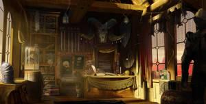 The Curious Cottage - cozy rpg shop redux