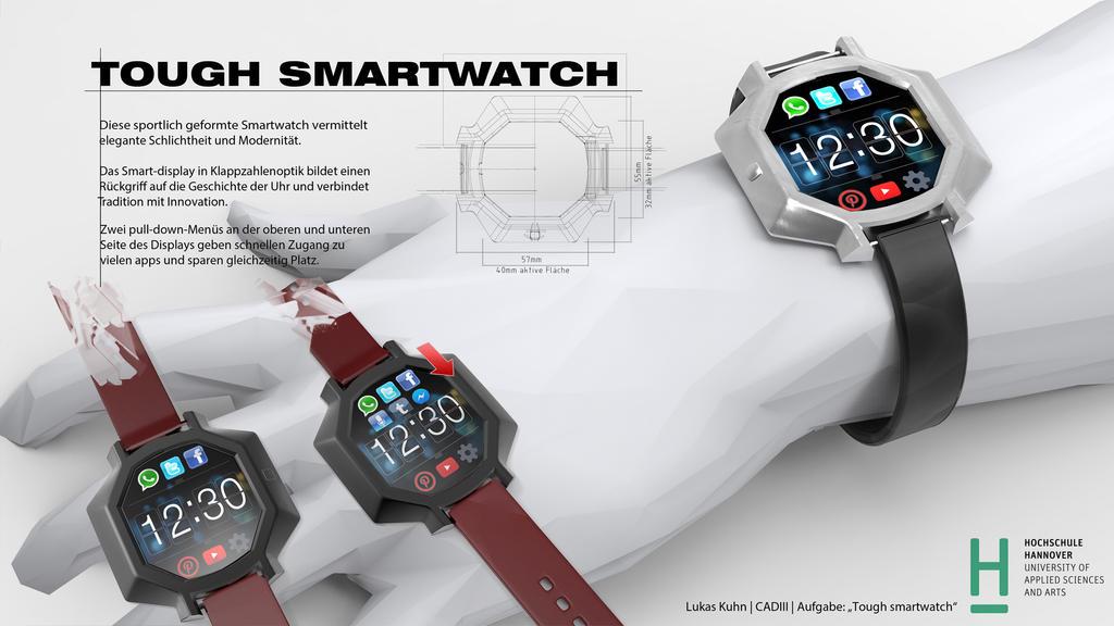 tough smart watch