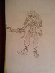 Sora Halloween Town Form by ANTI-hero-SB