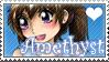 Prize: Jeshika-Haruno- Amethyst Stampy by Warped-Dragonfly