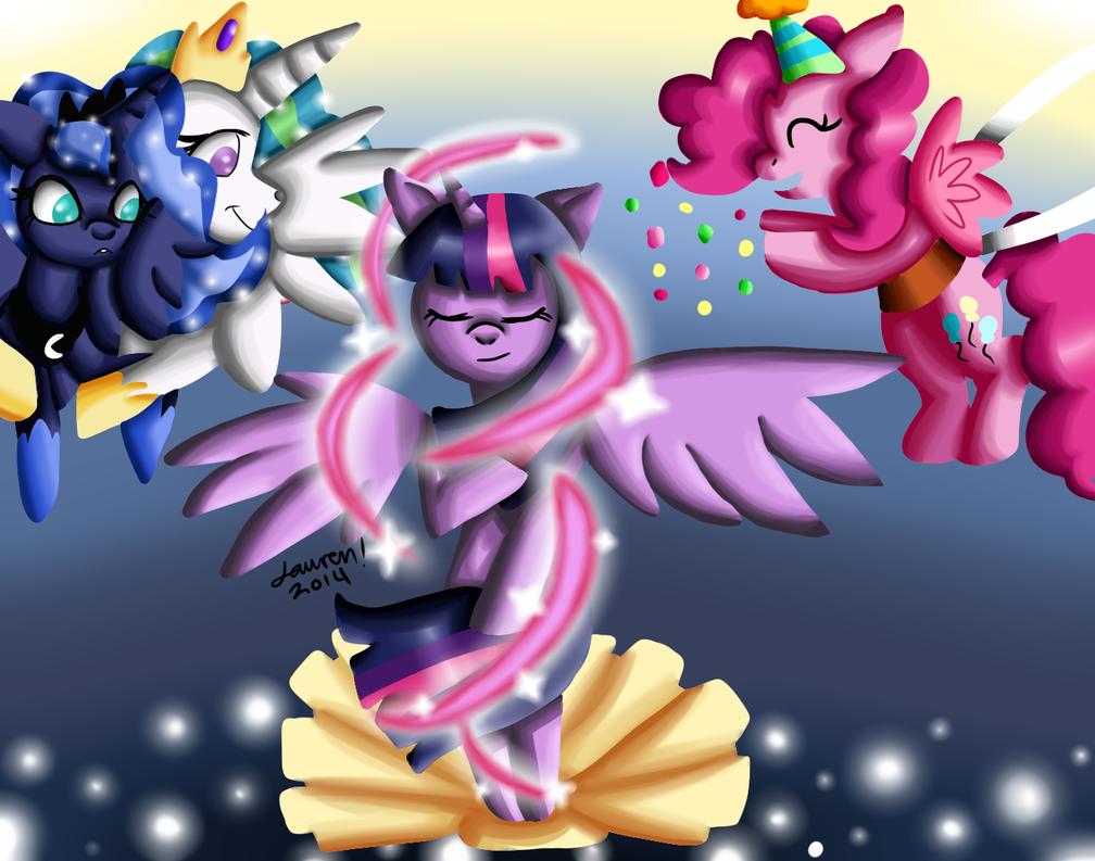 Birth of Twilight by Warped-Dragonfly