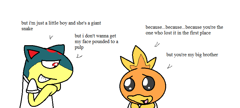 Cute torchic quilava and torchic cute off