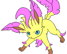 Leafeon OC: Cherry by Cocoafox895