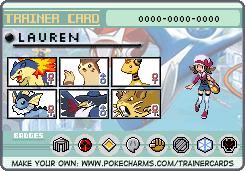 Pokemon SoulSilver Trainer Card by Cocoafox895