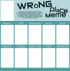 Wrong Place Meme - BLANK by Deathinator