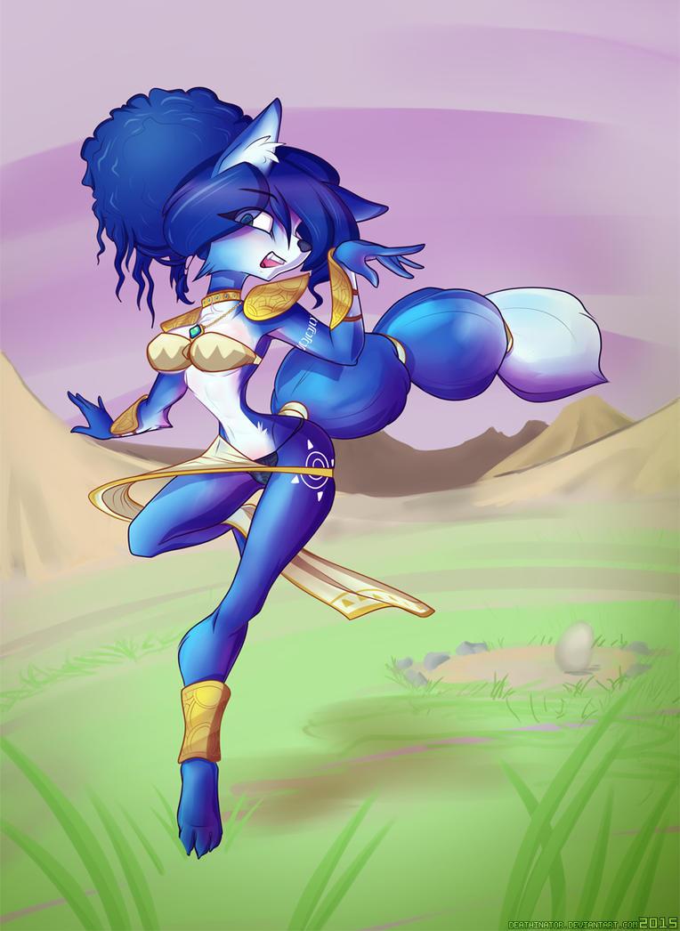 Krystal Fawx Girl by Deathinator