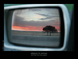 objects in mirror by superKeci