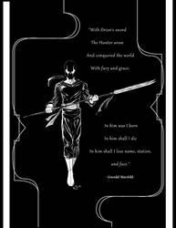 Grendel Hunter by judsonwilkerson